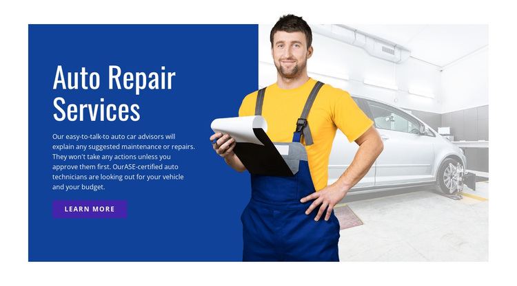 Electrical repair and services Joomla Page Builder