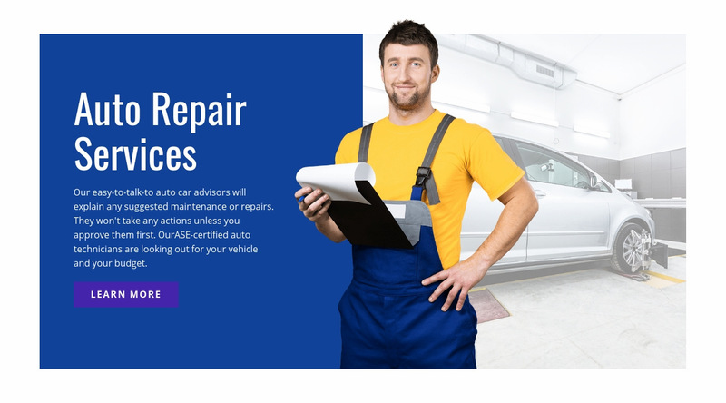 Electrical repair and services Web Page Designer