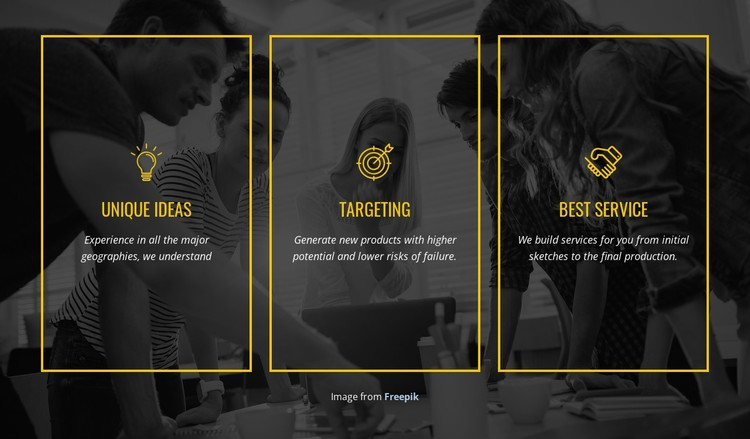 We create distinctive brands CSS Template