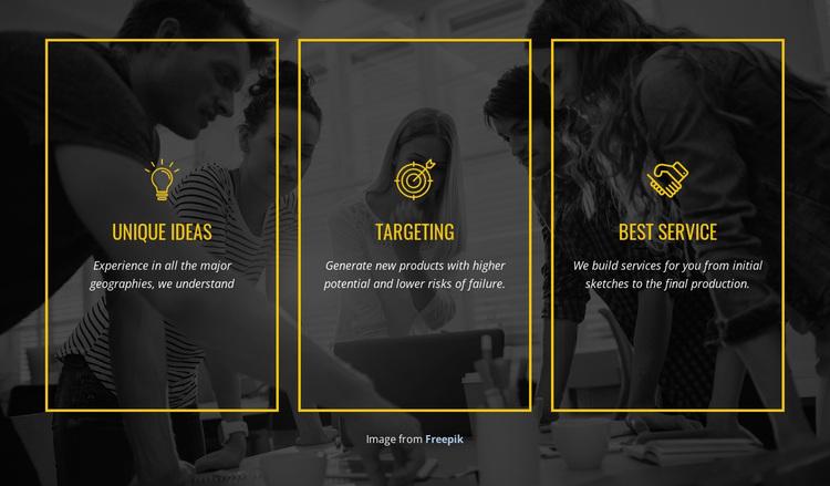 We create distinctive brands Joomla Page Builder