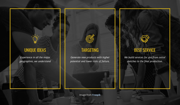 We create distinctive brands Website Builder Software