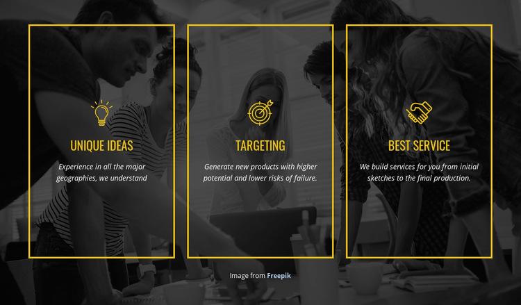 We create distinctive brands WordPress Website