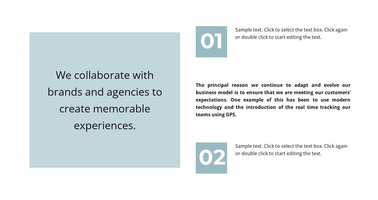 Quote and a lot of text Website Template