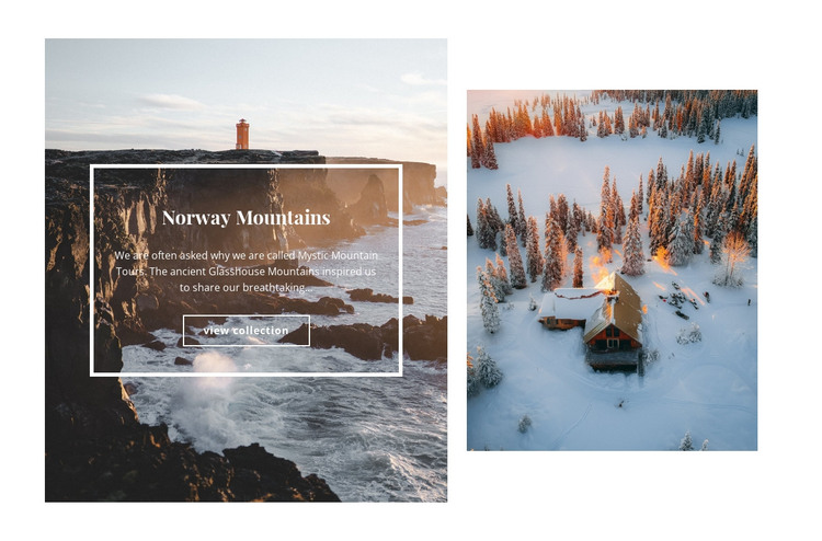 Ecological tourism HTML Template