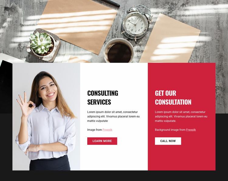 Transform your organization Website Template