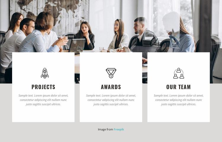 Software development company Website Template