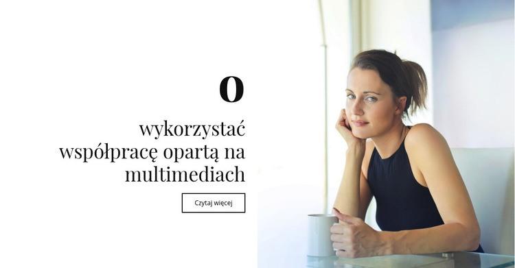 O multimediach i współpracy Szablon Joomla