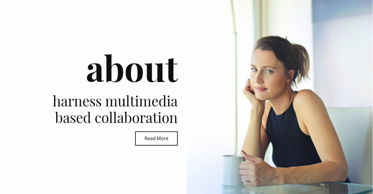 About multimedia and collaboration Web Page Designer