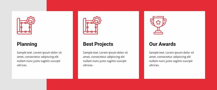 Building your dreams Website Template