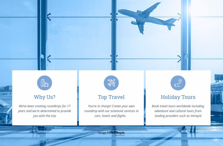 Weekend tours and holiday WordPress Website Builder