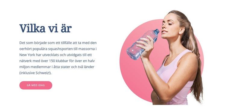 Hur du tränar din kropp Webbplats mall