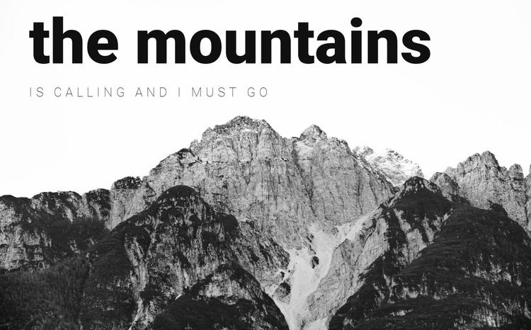 Exclusive trekkings Website Template