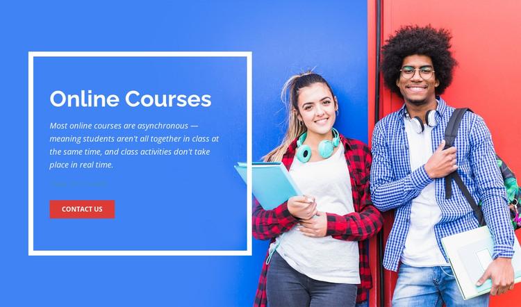 Interactive learning WordPress Theme