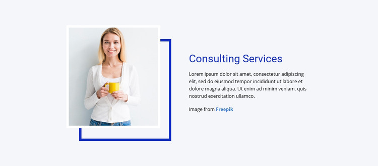 Operations, production & engineering Homepage Design