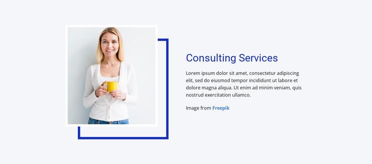 Operations, production & engineering Website Mockup
