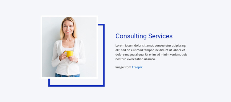Operations, production & engineering Website Template