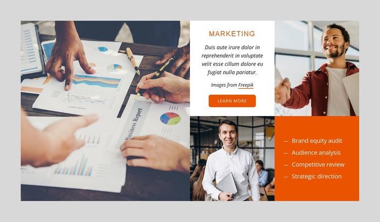 SEO marketing agency Html Code Example