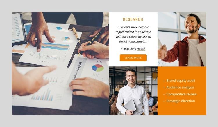 SEO marketing agency Template