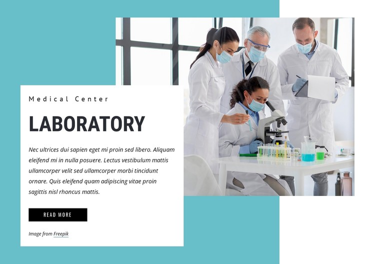 Medical Laboratory Science CSS Template