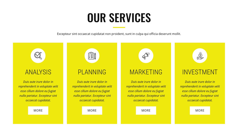 Strategic analysis and planning Web Page Design