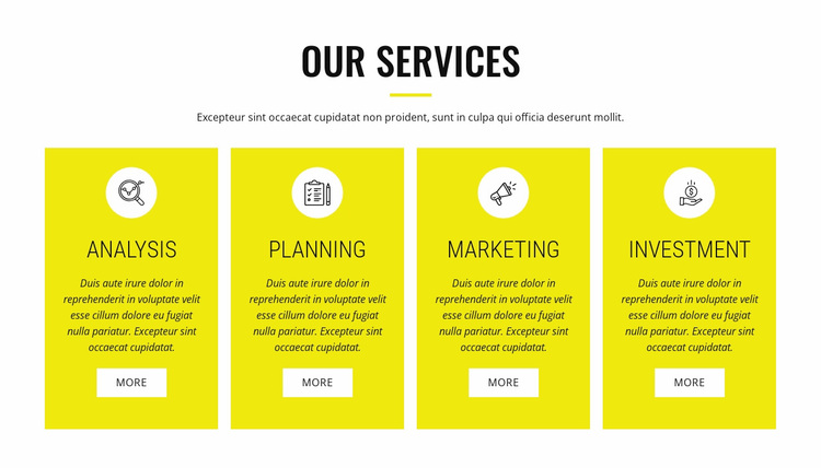 Strategic analysis and planning Website Design