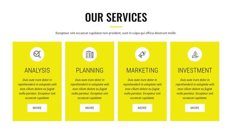 Strategic analysis and planning WordPress Theme
