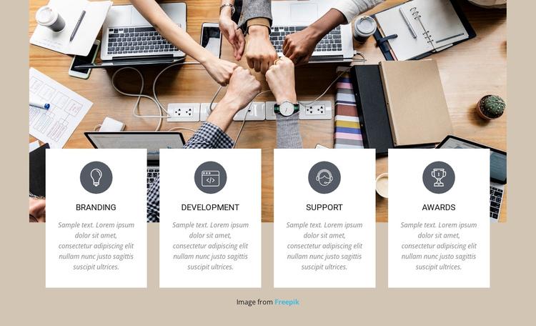 Brainding marketing agency Website Builder Software