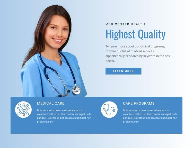 Health Insurance CSS Template