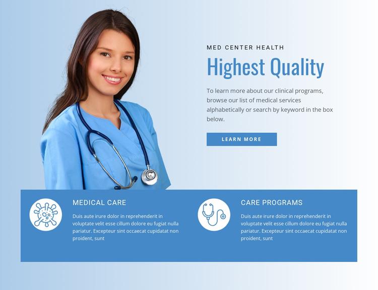 Health Insurance Website Template