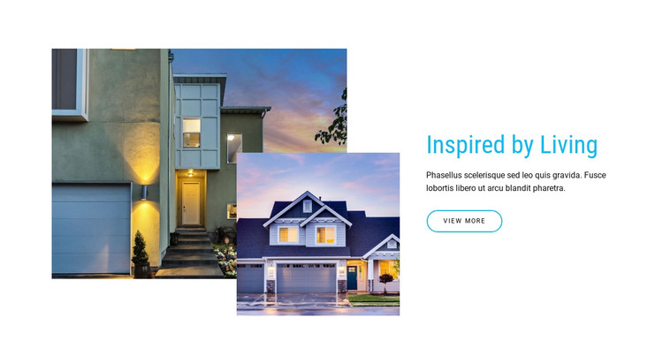Browse homes for sale HTML Template