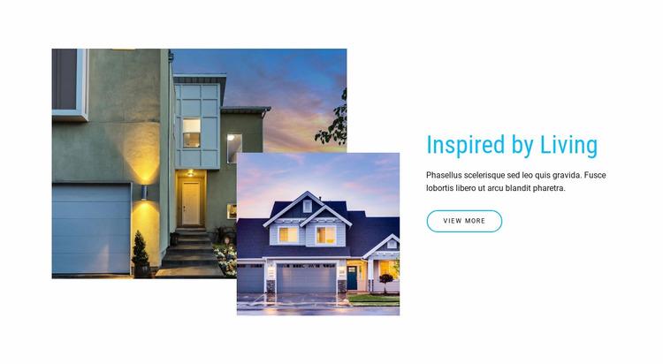 Browse homes for sale WordPress Website Builder