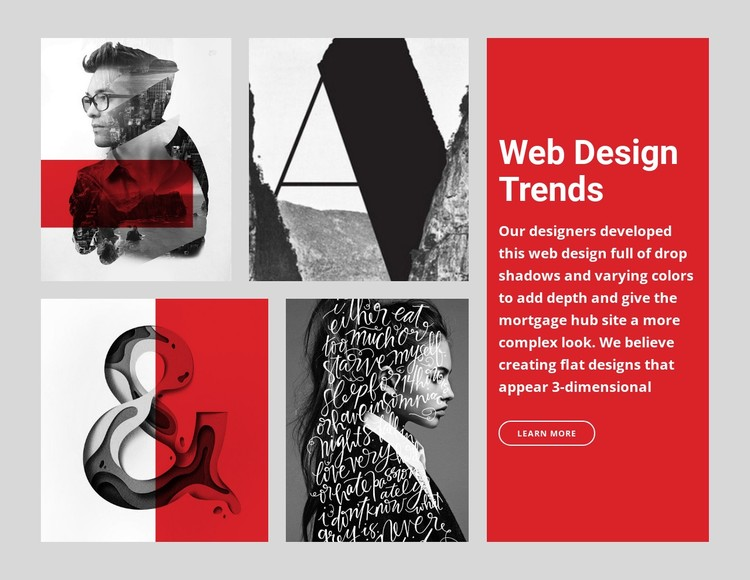 10 Web design trends  Static Site Generator