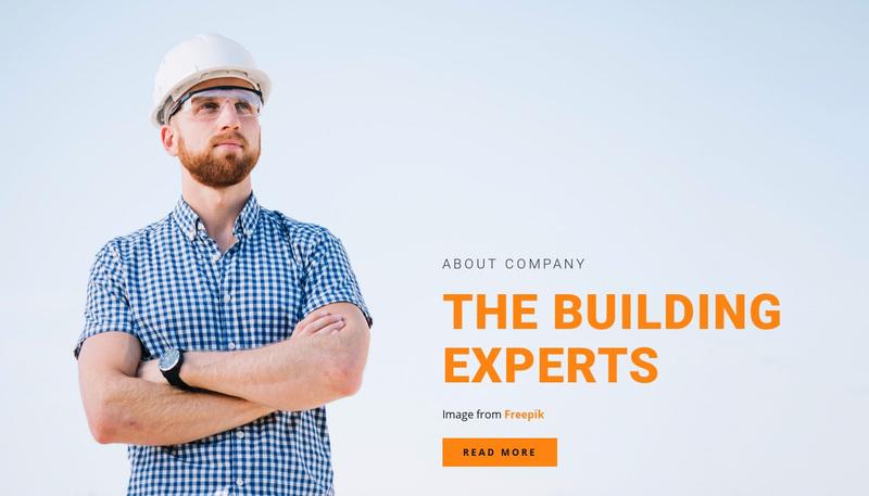 Team of specialists Website Creator