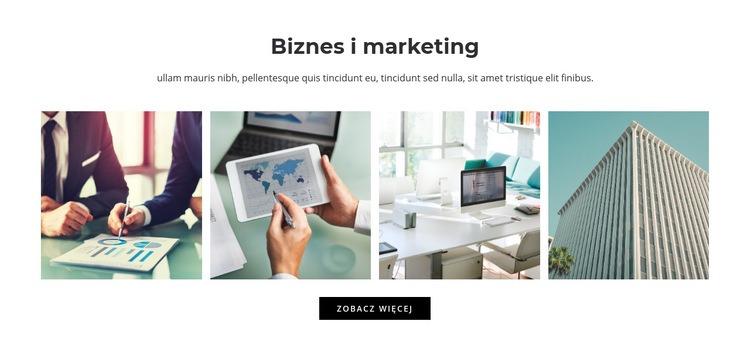 Biznes i marketing Szablon Joomla
