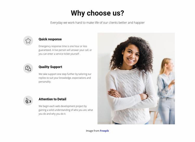 An open management style WordPress Website