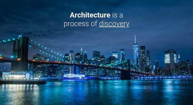 We build bridges and cities Joomla Page Builder