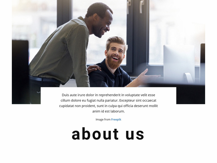 We are technology company Website Maker