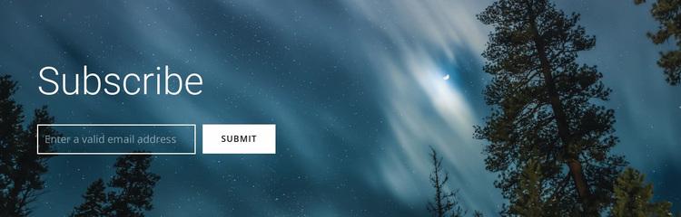 Extreme hiking Website Design