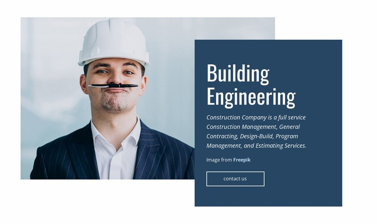 Building Engineering Html Code Example