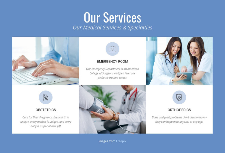 Medical Services HTML5 Template