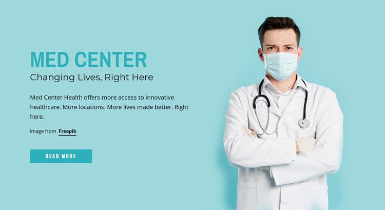 Changing lives Website Design