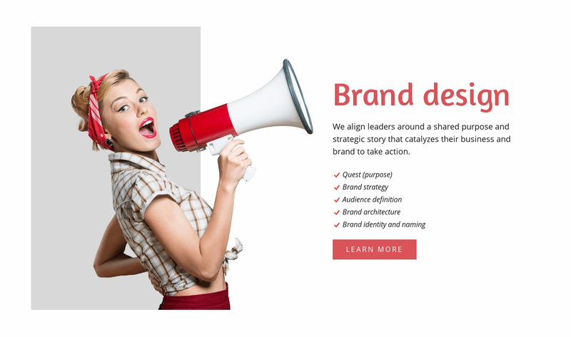 Branding firm with a rich history Web Page Designer