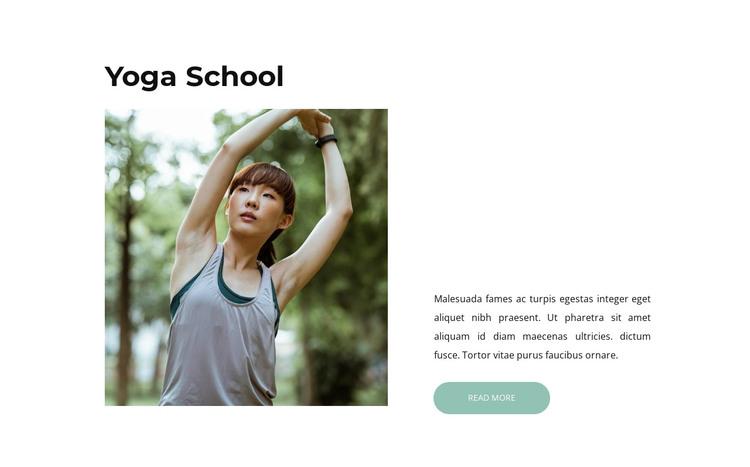 Yoga for health HTML Template