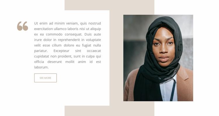 Modern world Website Template