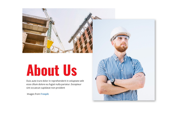 Building the future of industry Template