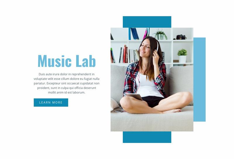 Music Lab Website Creator