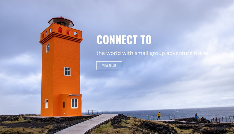 Connect to nature HTML Template