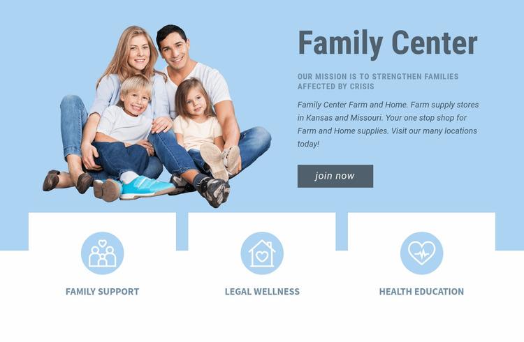 Pediatric health care Html Website Builder