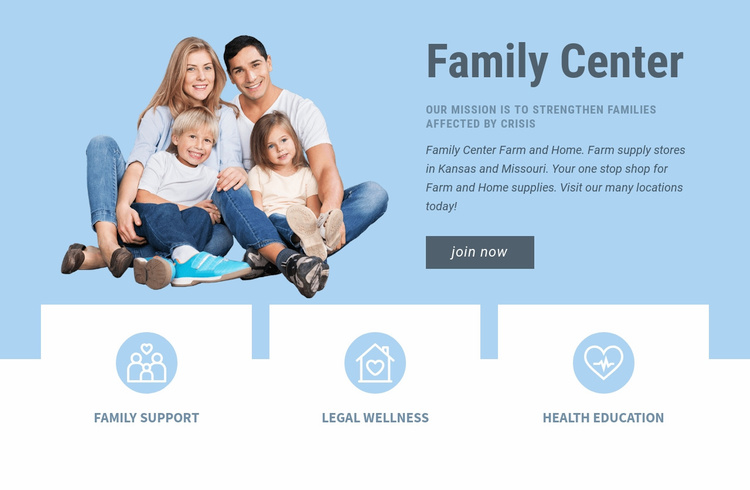 Pediatric health care Landing Page