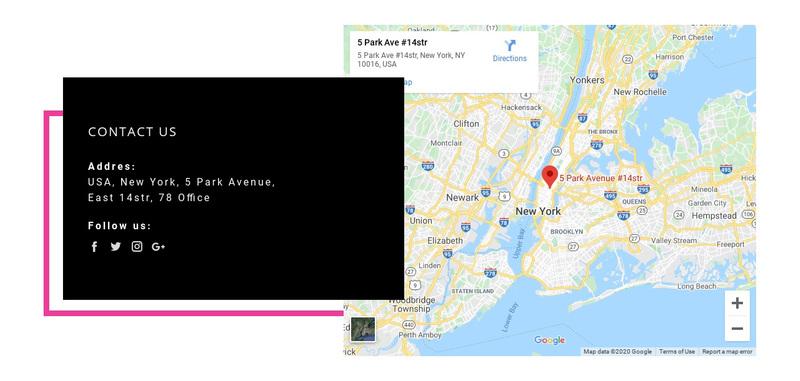 Leave us a message Web Page Design